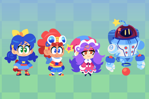 Wonder Wickets Characters by The-Knick on DeviantArt