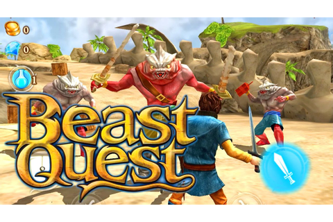 Let's Play Beast Quest with kids on iOS and Android - YouTube