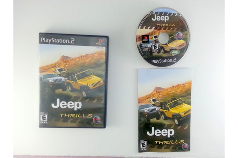 Jeep Thrills game for Playstation 2 (Complete) | The Game Guy