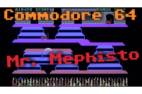 "CC64 playing ""Mr. Mephisto"" (1984). Game #103. - YouTube"