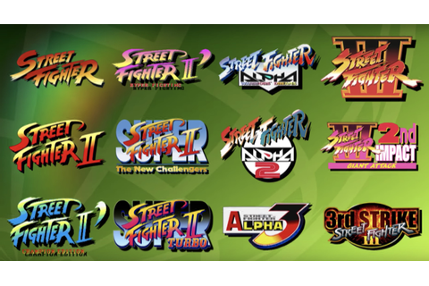 Street Fighter 30th Anniversary Collection brings 12 ...