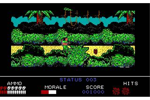 Platoon Download (1987 Arcade action Game)