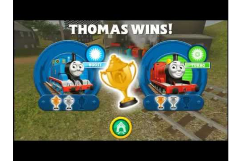 Thomas Races all 5 Friends - Head to Head - Thomas Tank ...