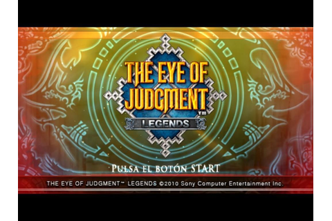 (PSP) The Eye of Judgment: Legends (ISO)(EUR)(ESP)(MG)