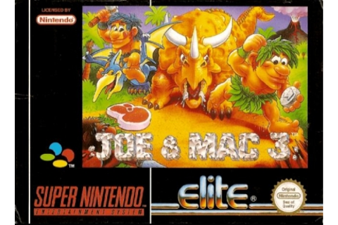 Joe & Mac 3 : Lost in the Tropics [Europe] - Super ...