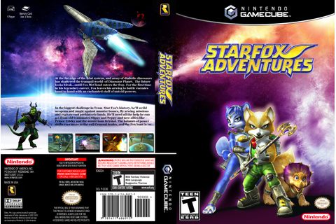 Starfox Adventures GameCube Box Art Cover by Betakyte