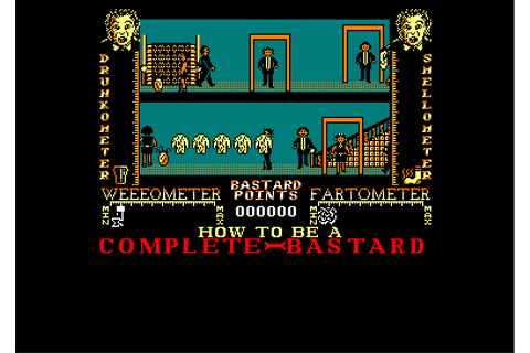 how to be a complete bastard © virgin games (1987)