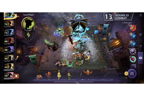 Dota Underlords is out now for iOS and Android - here's ...
