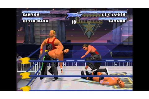 Royal rumbles episode 9 WCW Thunder PS1 - YouTube