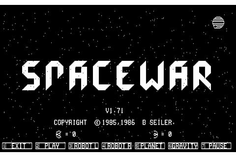 Download Spacewar - My Abandonware