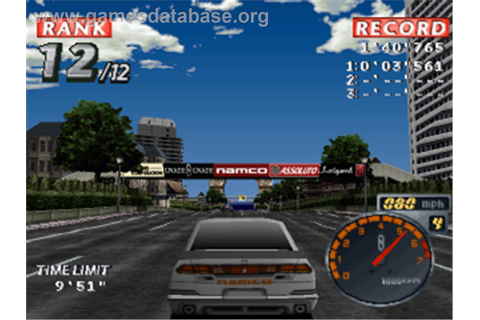 Rage Racer - Sony Playstation - Games Database