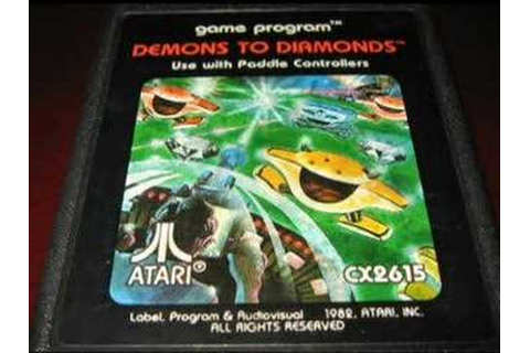 Classic Game Room - DEMONS TO DIAMONDS for Atari 2600 ...