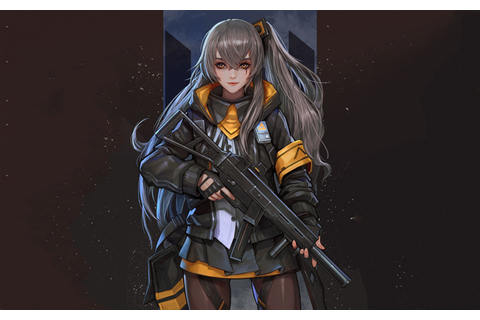 Download wallpapers Girls Frontline, Japanese anime game ...
