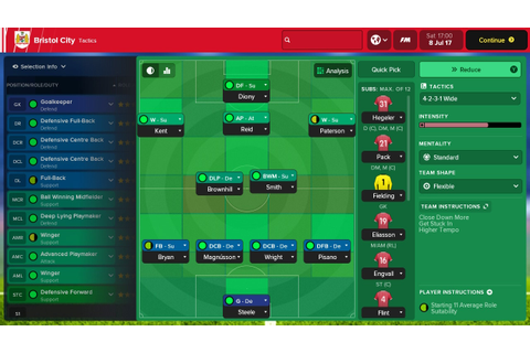 Football Manager Touch 2018 (Switch eShop) Game Profile ...