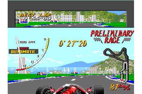 Super Monaco Grand Prix Screenshots | GameFabrique