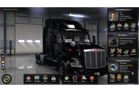 100% SAVE GAME + FREE CAM for ATS -Euro Truck Simulator 2 Mods