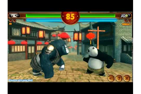 Kung Fu Panda 2 Gameplay Unity3d - YouTube