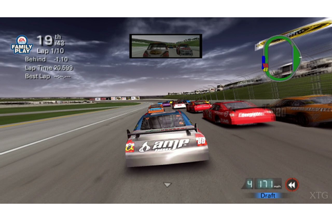 NASCAR 09 PS2 Gameplay HD (PCSX2) - YouTube