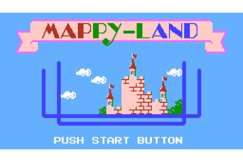 Mappy-Land - NES Gameplay - YouTube