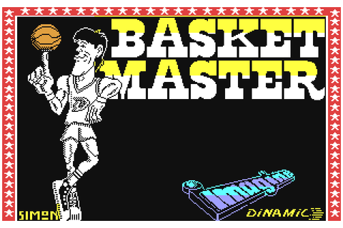 Basket Master (1987) by Imagine / Dinamic / Topo Soft C64 game