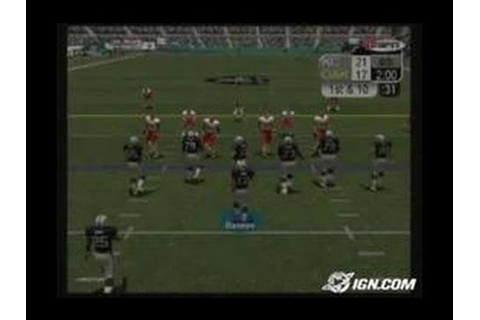 ESPN NFL Football PlayStation 2 Gameplay - YouTube