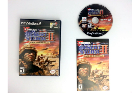 Conflict Desert Storm 2 game for Playstation 2 (Complete ...