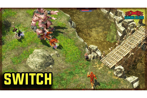 Titan Quest Nintendo Switch Upcoming Game Trailer - YouTube