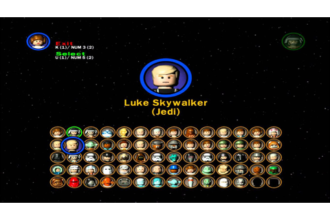 Lego Star Wars 2 All Characters - YouTube