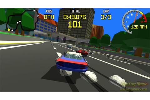 Racing Apex Fuses Virtua Racing With Mario Kart Combat ...