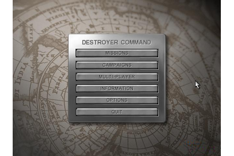 Destroyer Command Download (2002 Simulation Game)
