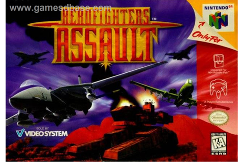 AeroFighters Assault (USA) ROM