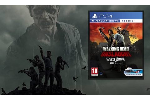 The Walking Dead Onslaught Golden weapons Deluxe VR Requis ...