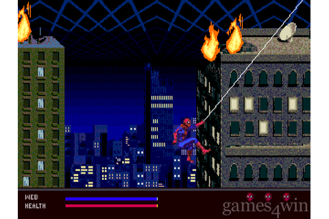 Spider-Man: Web Of Fire Download on Games4Win
