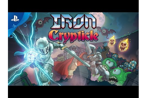 IRON CRYPTICLE Game | PS4 - PlayStation