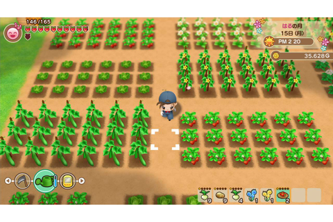 The Harvest Moon: Friends of Mineral Town Remake Is ...