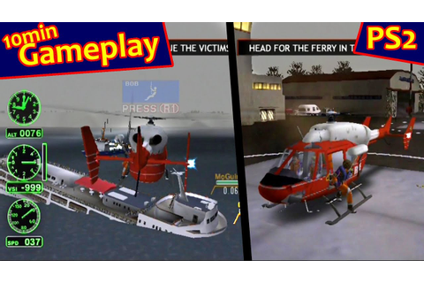 Air Ranger: Rescue Helicopter ... (PS2) - YouTube