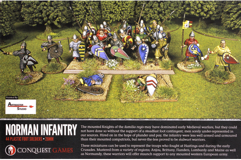 Conquest Games: Norman Infantry | at Mighty Ape Australia
