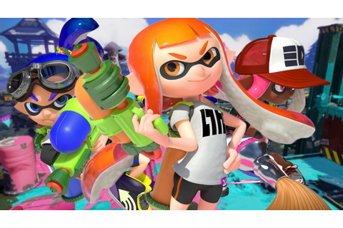 Nintendo Goes Fresh With Splatoon | Girls on Games