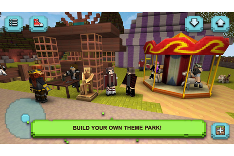 Theme Park Craft: Build & Ride - Android Apps on Google Play