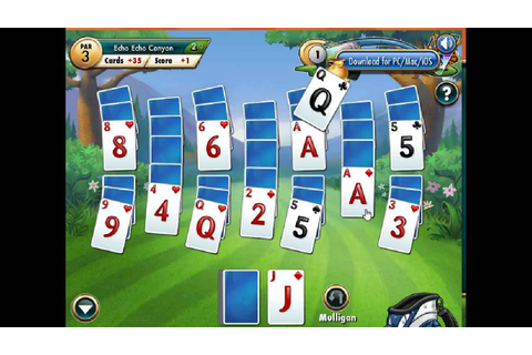 Fairway Solitaire Golf - YouTube
