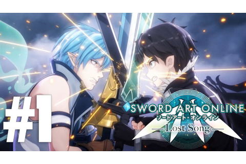 Sword Art Online: Lost Song Gameplay Let's Play Part 1 ...