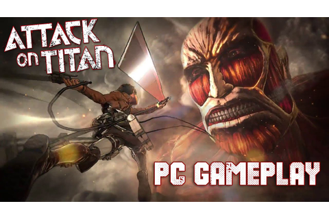 ATTACK ON TITAN : WINGS OF FREEDOM - PC GAMEPLAY 1080p HD ...