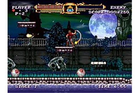 Castlevania: The Adventure ReBirth - Wikipedia