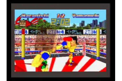 Funky Head Boxers - Sega Saturn - YouTube
