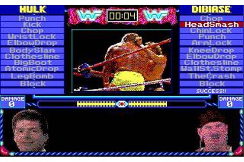 Micro League Wrestling 2 Download (1989 Sports Game)