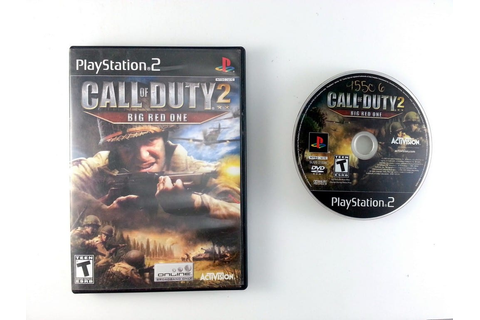 Call of Duty 2 Big Red One game for Playstation 2 | The ...