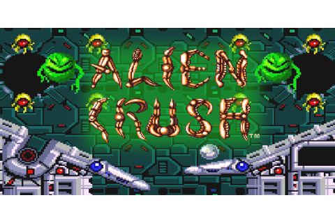 Alien Crush™ | TurboGrafx | Games | Nintendo