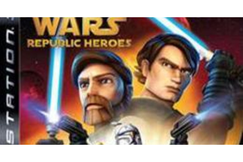 Star Wars: The Clone Wars Republic Heroes | PS3 ISO Games