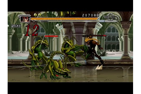 Guilty Gear Judgment Gameplay Story Mode Area 1 (PSP ...