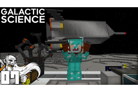 """WE'RE GOING TO MARS!!!"" Galactic Science Ep 07 Minecraft ..."
